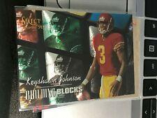 Keyshawn Johnson 1996 Select Building Blocks #20  JETS! kxv2