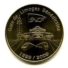 87 LIMOGES 80 ans de la gare des Bénédictins, 2009, Monnaie de Paris