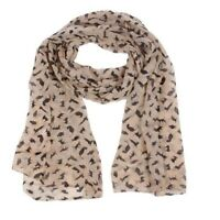 Cat Print Scarf Celebrity Fashion Shawl Scarves WRAP Ladies Animal New Soft G6G8