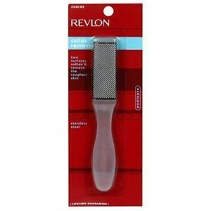 Revlon Stainless Steel Callus Remover Foot File Pedicure US SELLER FREE SHIPPING