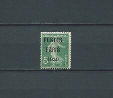PRÉOBLITÉRÉS - 1920 YT 24 - TIMBRE NEUF** LUXE - COTE 850,00 € - signé Calves