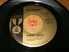 THE RAMBLERS - SURFIN SANTA - SILLY LITTLE BOY / LISTEN - TEEN ROCK POPCORN