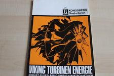144910) Kongsberg - Gasturbine - Prospekt 02/1972