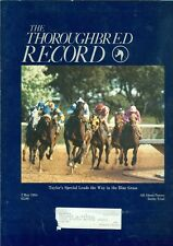 1984 Thoroughbred Record Magazine: Taylor's Special Wins Blue Grass/Derby Trial