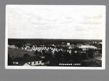 pk30251:Real Photo Postcard-Petawawa,Ontario Military Camp