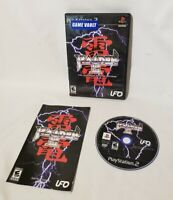Raiden III / Raiden 3 PS2 (Sony PlayStation 2, 2007) Complete with Manual