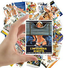 """Stickers pack [24 stkrs 2.5""""x3.5""""ea] Vintage Sex Comedy Trash Movie Poster 1065"""