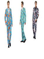SALE Smiffy's Men's Stand Out Suit Halloween Fancy Dress Costume