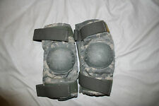 Used Elbow Pads, Military Army Digital Green Camo, Size Large, Made in USA