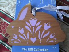 Avon The Gift Collection *Cedar Charm Sachet Bunny*New In Box*Old Stock