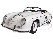 PORSCHE 356 SPEEDSTER WHITE #23F 1/18 DIECAST CAR MODEL BY AUTOART 77865