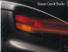 1990 NISSAN ORIGINAL DEALERS BROCHURE