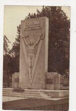Roubaix Monument de la Resistance Vintage RP Postcard France 443a