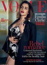 Vogue Australia May 2016 Game of Thrones Emilia Clarke Brand New