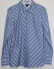 Tommy Hilfiger 100% Cotton Long Sleeve Striped Women's Tops & Blouses