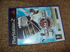 """A RARE """"BRIAN LARA INTERNATIONAL CRICKET 2007"""" (PLAYSTATION 2, 2007) GAME"""