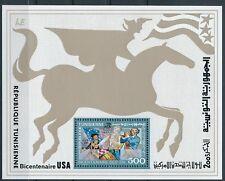 Tunesien -  200 Jahre Unabhängigkeit USA Block 15 A postfrisch 1976 Mi. 896