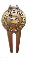 Minnesota Vikings Divot Tool with Golf Ball Marker
