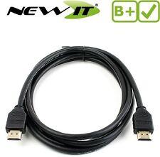 HDMI Lead / Cavo v 1.4 per Raspberry Pi Modello B PLUS 1,5 METRI PIN DORATI