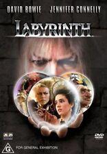 LABYRINTH (David BOWIE Jennifer CONNELLY) Fantasy Adventure Film DVD Region 4