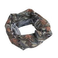 Multi-function Scarf Headband Face Mask Neck Protector For Fishing -- Camo