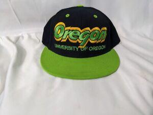 Oregon Ducks Snapback Hat Top Of The World