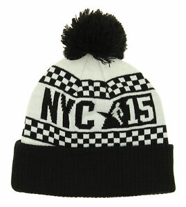 Adidas NBA Youth (8-20) New York City 2015 All-Star Cuffed Knit Hat with Pom