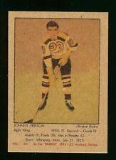 1951-52 PARKHURST #34 JOHNNY PEIRSON PARKIE REPRINT HOCKEY CARD SET BREAK MINT