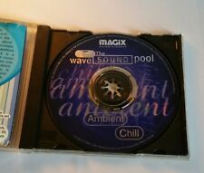wave sound pool - Ambient - Chill - Magix music maker - wav samples - CD