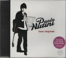 PAOLO NUTINI  Last Request  2 TRACK CD NEW - NOT SEALED