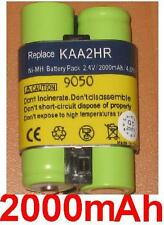 Battery 2000mAh type B-9576 DMKA2 KAA2HR For KODAK EasyShare Z740