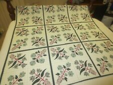 """2615  Fabri-Quilt OZARK CALICO FLORAL Craft/Quilting COTTON FABRIC 44""""x1 2/3 Yds"""