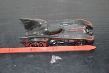 2012 HOT WHEELS BATMOBILE WITH RED STRIPES