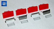 82-92 Camaro Firebird Orange Seat Belt Button Replacement Kit  COMPLETE   NEW GM