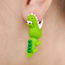 1 Paar Mund Krokodilohr Hengstohrring der netten Karikatur 3D offener Ohrringe