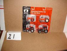 1/64 Ertl Agco Historical 4-piece Tractor Set