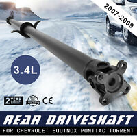 Drive Shaft Driveshaft Rear for Chevrolet Equinox 3.4 2007-2009