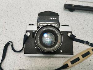 Vintage Kiev 60 TTL Mittelformat Kamera mit 2.8 80mm Prime Objektiv!+ 1,Objektiv