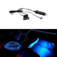 1M Blue Car Indoor Soft Decorative Lamp Neon LED Light Glow EL Wire Strip