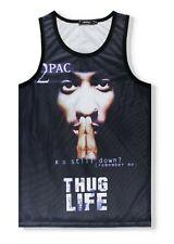 2pac Vest   are you still down rap urban graffiti tupac hip hop licensed