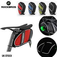 ROCKBROS Reflective Rear Seatpost Bicycle Bag Rainproof Saddle Cycling Bike Bag