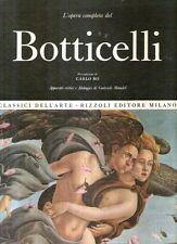 Classici dell'arte Botticelli Rizzoli
