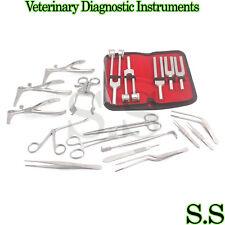 30 Pcs Set Of Ent Surgical Veterinary Diagnostic Surgery Instruments DS-921