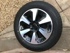 01  NEW GENUINE 12-18 SUBARU  XV   ALLOY WHEELS  AND TYRES  17''