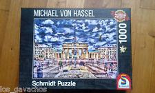 Puzzle 1000 pièces - Michael von Hassel-  Porte de Brandebourg BERLIN