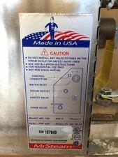MR. STEAM MS 150 STEAM GENERATOR STEAM BATH SHOWER KW 6 240V W/ AUTOFLUSH