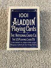 Aladdin 1001 Playing Cards Original Smooth Finish Rare