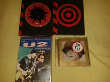 BUNDLE U2 ITEMS 2 X CD ALBUM S & 2 DVD S BEST OF U2 1980-1990 U2 PHENOMENON DVD