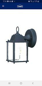 ACCLAIM LIGHTING 5001BK Wall Light,Matte Black,1-Light