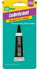 Lucky Line 95001 Graphite Lubricant 1 Per Card For Wood Metal Plastic Rubber